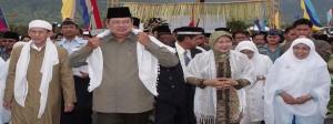 Sadiyah Aljufrie mendampingi Ibu Presiden Republik Indonesia
